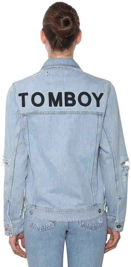 Filles a papa Tomboy Cotton Denim Jacket