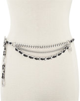 MICHAEL Michael Kors Laced Multi Chain Belt