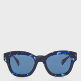 Paul Smith Confetti Blue 'Dennett' Sunglasses