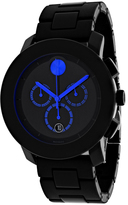 Movado Bold 3600101 Men's Round Black Stainless Steel and TR90 Composite Watch