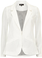 Dorothy Perkins White pocket detail blazer