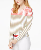 Tommy Hilfiger Striped Top, Only at Macy's