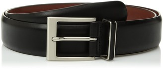 Perry Ellis Men's 35MM Smooth Nappa Leather Belt