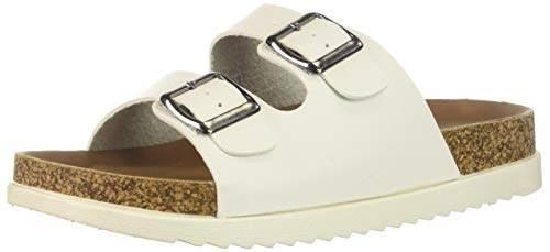 Madden-Girl Women's GOLDIIE Slide Sandal