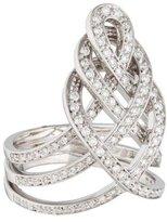 Damiani Diamond Woven Ring
