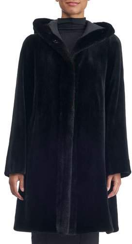 Gorski Reversible Sheared Mink Coat