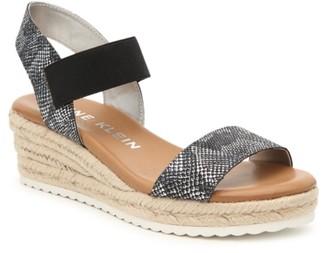 Anne Klein Cait Espadrille Wedge Sandal