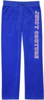 Juicy Couture Girls Logo Velour Glam Laurels Mar Vista Pant