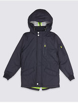 Marks and Spencer Hooded Jacket with StormwearTM (3-14 Years)