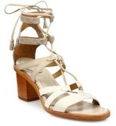 Frye Brielle Colorblock Suede Gladiator Sandals