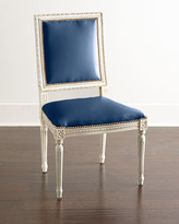 Horchow Massoud Ingram Leather Dining Chair, B4
