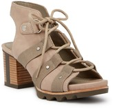 Sorel Addington Leather Ghillie Sandal