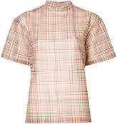 Toga Pulla checked blouse