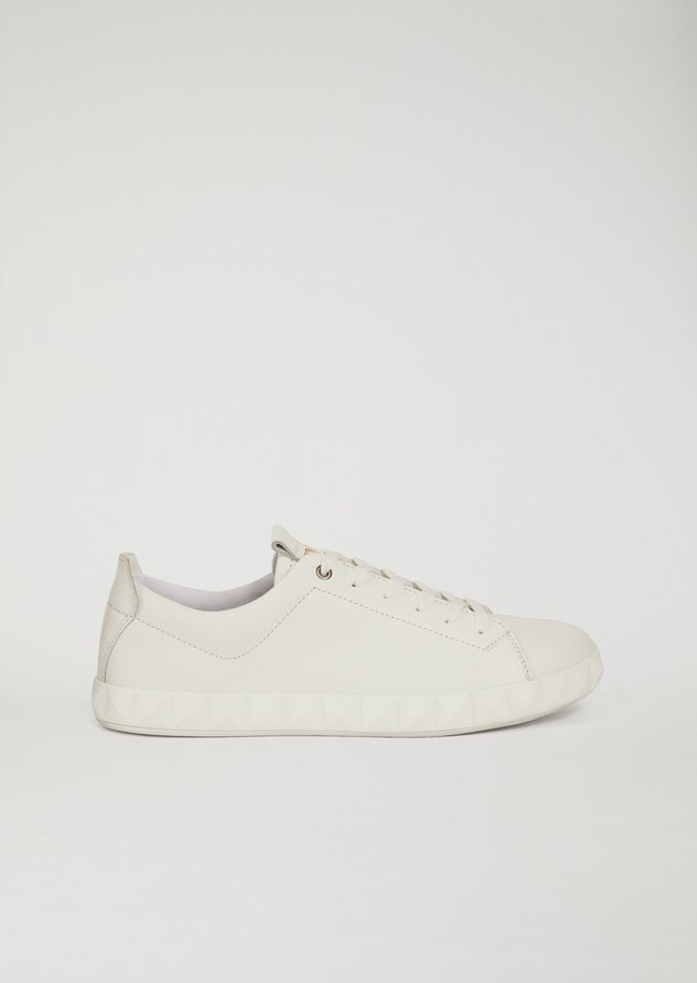a35bf0f36b144 Emporio Armani White Men's Sneakers | over 60 Emporio Armani White Men's  Sneakers | ShopStyle