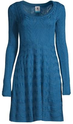 M Missoni Scoopneck T-Shirt Dress