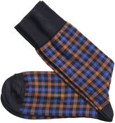 Johnston & Murphy Windowpane Socks