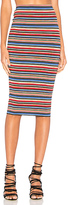 Bailey 44 Striped St Martin Skirt in Blue