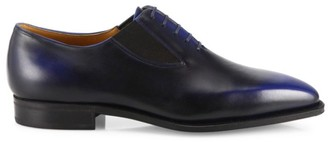 Corthay Easy Pullman French Calf Leather Piped Shoes