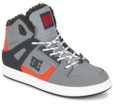 DC REBOUND WNT B SHOE XSKN Grey / Black / Orange