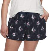 Mudd Juniors' Plus Size Peached Shorts