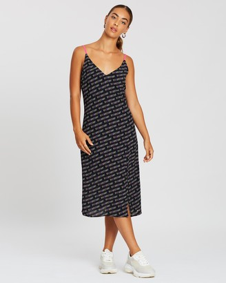 Tommy Jeans Printed Strap Dress