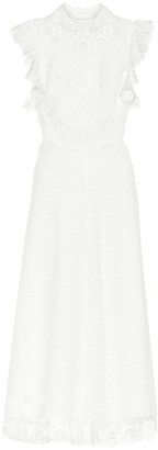 Zimmermann Peggy linen and cotton midi dress