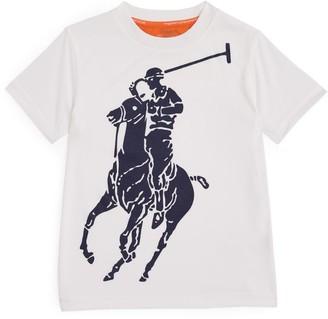 Ralph Lauren Kids Big Pony Performance T-Shirt (5-7 Years)