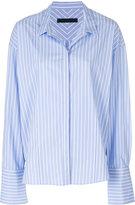 Juun.J Striped Cotton Shirt