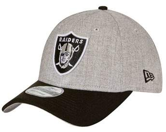 New Era Oakland Raiders 9FORTY Heather Snapback Cap