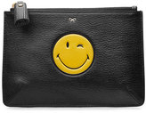 Anya Hindmarch Leather Small Loose Pocket Clutch