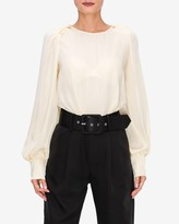 Express English Factory Balloon Sleeve Top