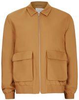Topman PREMIUM Gold Harrington Jacket