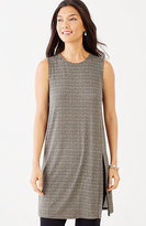 J. Jill Wearever Sleeveless Print Tunic