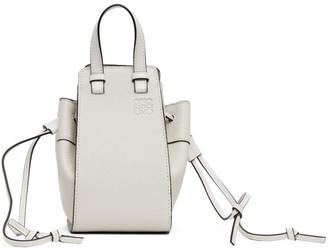 Loewe Off-White Mini Hammock Bag