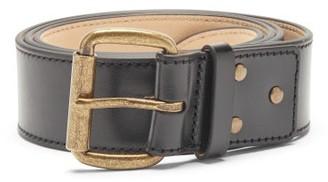 Acne Studios Atticus Leather Belt - Black