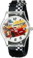 Disney Kids' W001709 Cars Analog Black Watch