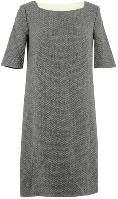 BA&SH Grey Wool Dress for Women