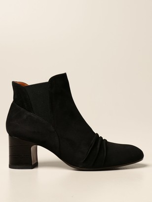Chie Mihara Nedis Ankle Boot In Suede