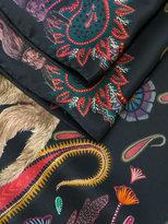 Paul Smith printed monkey scarf - men - Silk - One Size
