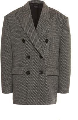 Isabel Marant Hermina Oversized Wool Blazer