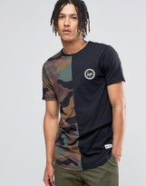 Hype T-shirt In Camo
