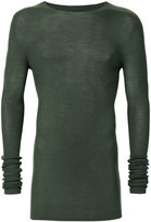Rick Owens ribbed jumper - men - Wool - S