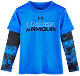 Under Armour Graphic-Print Slider Shirt, Little Boys (2-7)