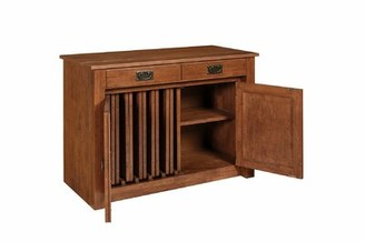 Williston Forge Esita Shaker Mission Style Expanding Accent Cabinet Color: Cherry
