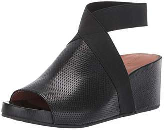 Gentle Souls Women's Gisele 65 Elastic Wedge Sandal