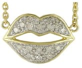 Diamond Lip Pendant