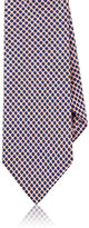 Barneys New York MEN'S CIRCLE MOTIF SILK NECKTIE
