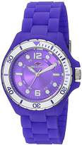 Seapro Women's 'Spring' Quartz Stainless Steel and Silicone Casual Watch, Color:Purple (Model: SP3216)