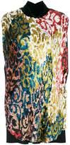 Talbot Runhof Lantern blouse