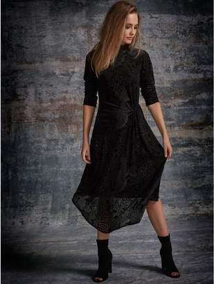 M&Co Sonder Studio Animal midi dress